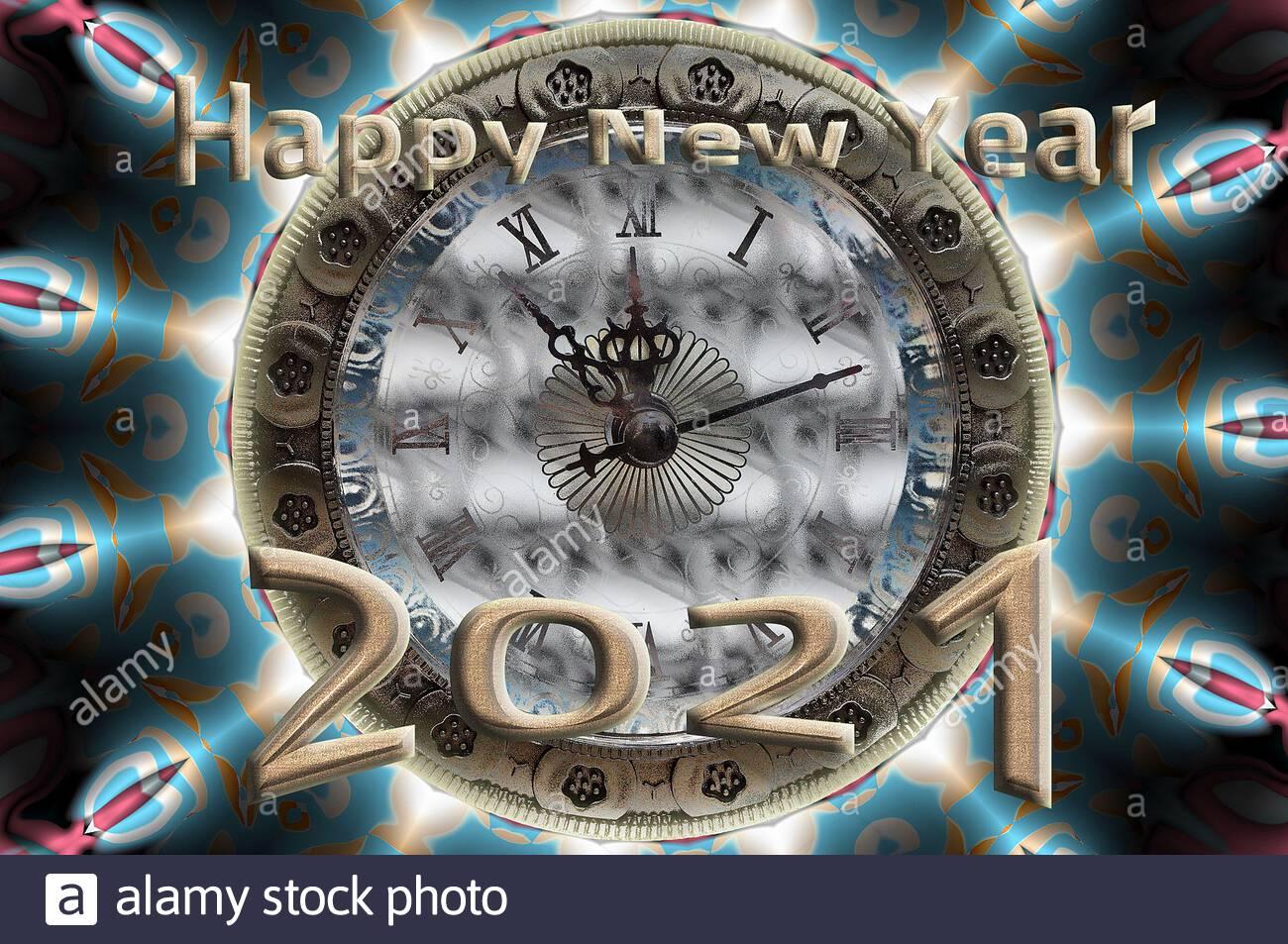 Bonne Annee 2021 Banque D Image Et Photos Alamy