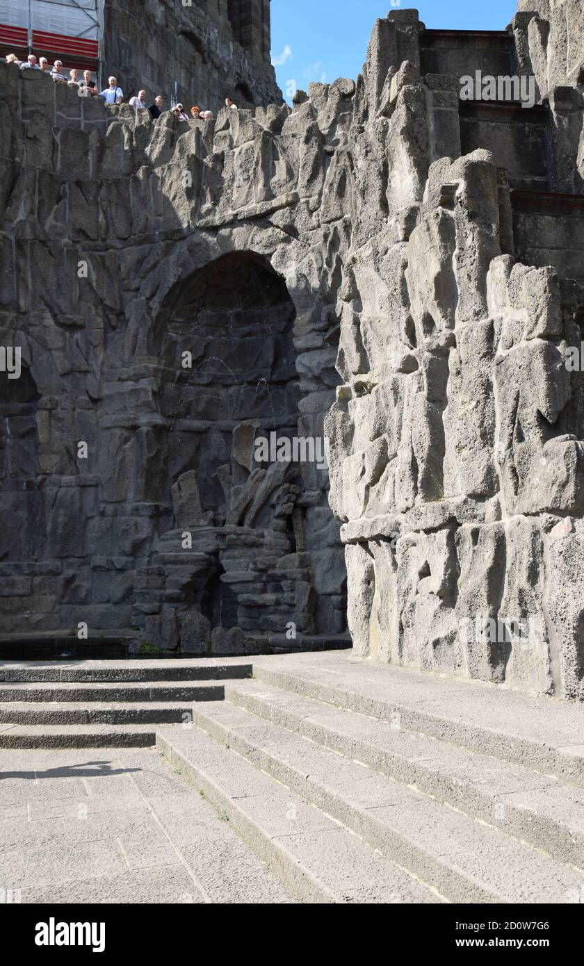 Monument Herkules - Wasserspiele à Kassel Banque D'Images