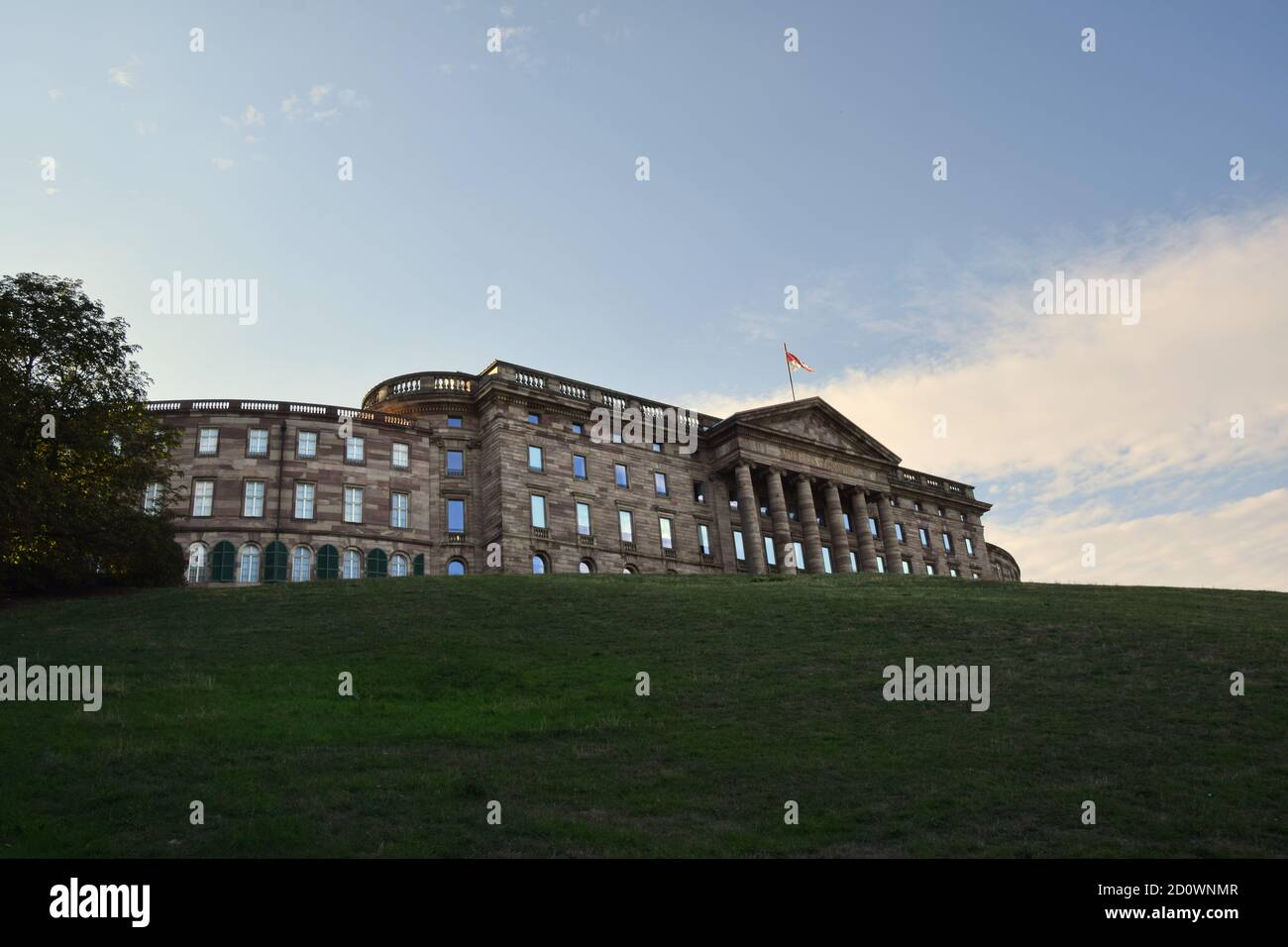 Schloss Wilhelmshöhe - Château Wilhelmshoehe à Kassel Banque D'Images