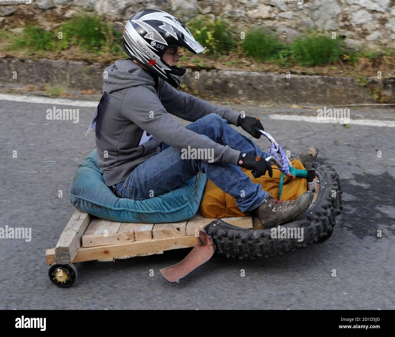 Home Made Go Kart Banque D Image Et Photos Alamy