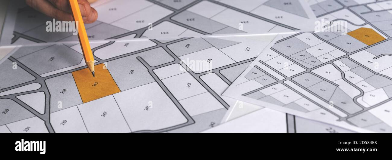 Plan Cadastral Banque D Image Et Photos Alamy