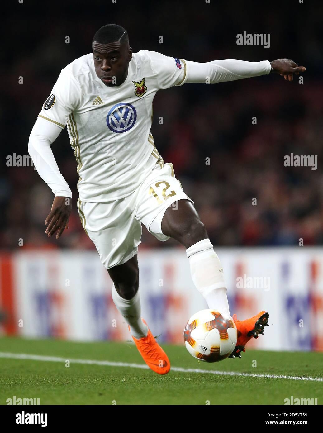 Ken Sema du FK d'Ostersunds Banque D'Images