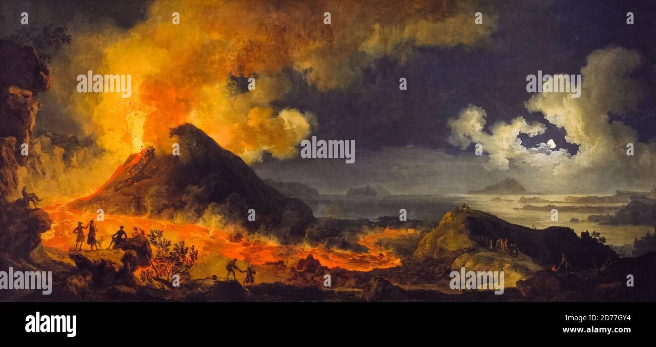 Painting Vesuvius Eruption Banque D Image Et Photos Alamy
