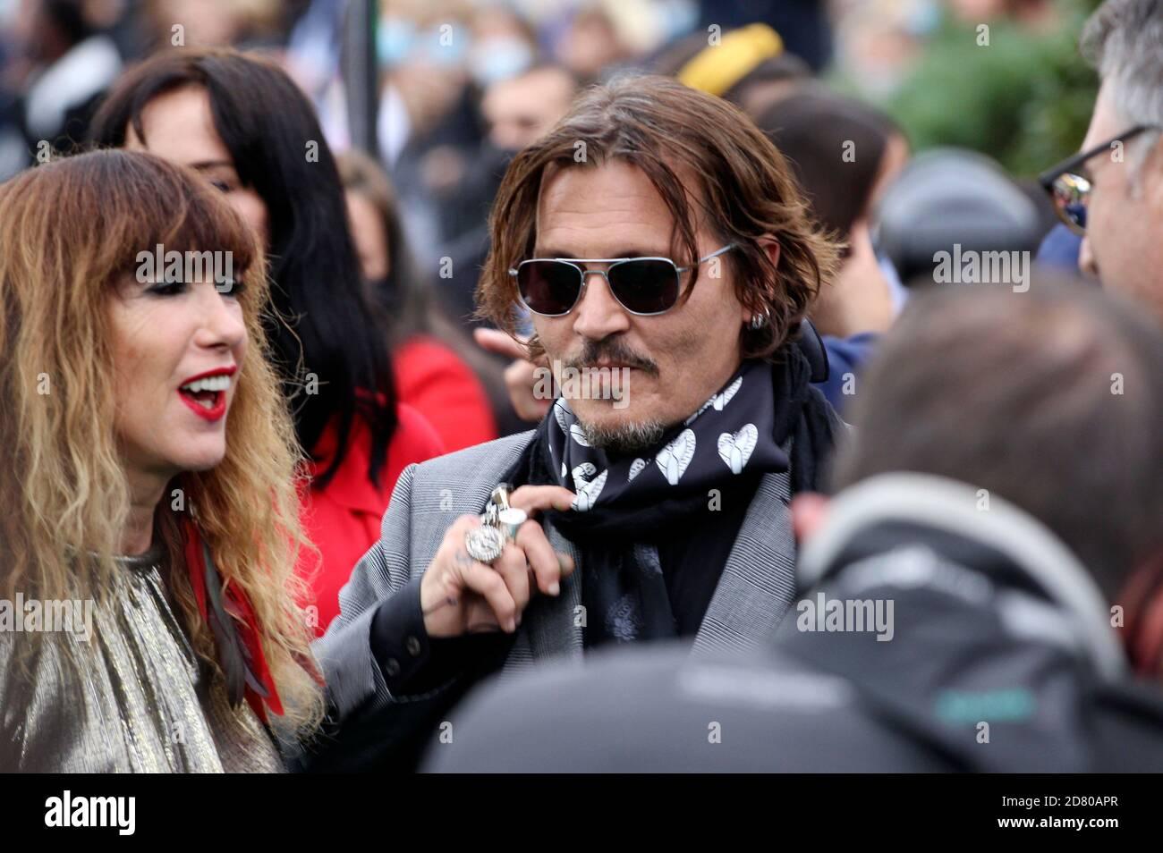 Johnny Depp assiste à la première « Crock of Gold: Quelques tours avec Shane McGowan » lors du 16e Festival du film de Zurich à Kino Corso le 02 octobre 2020 à Zurich, en Suisse. Banque D'Images