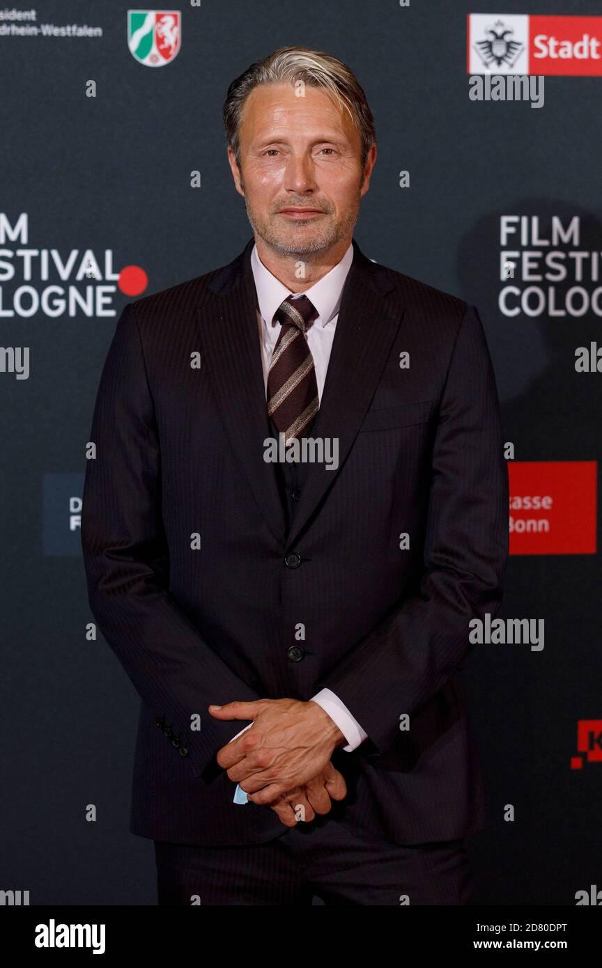 Mads Mikkelsen participant au Festival du film Cologne Awards 2020 au 30ème Festival du film Cologne 2020 au Palladium le 8 octobre 2020 à Cologne, Allemagne Banque D'Images