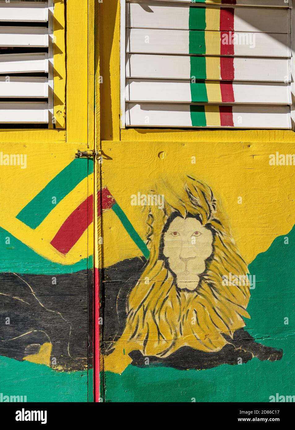 Holiday T-shirt Jamaïque Reggae rastafarienne Jamaican 3 petits oiseaux Bob Marley