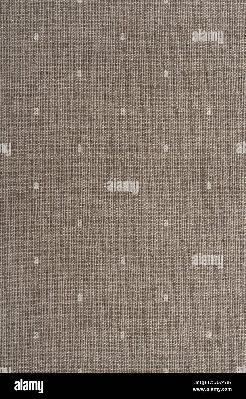 Arrière-plan du canevas. Texture textile beige Banque D'Images