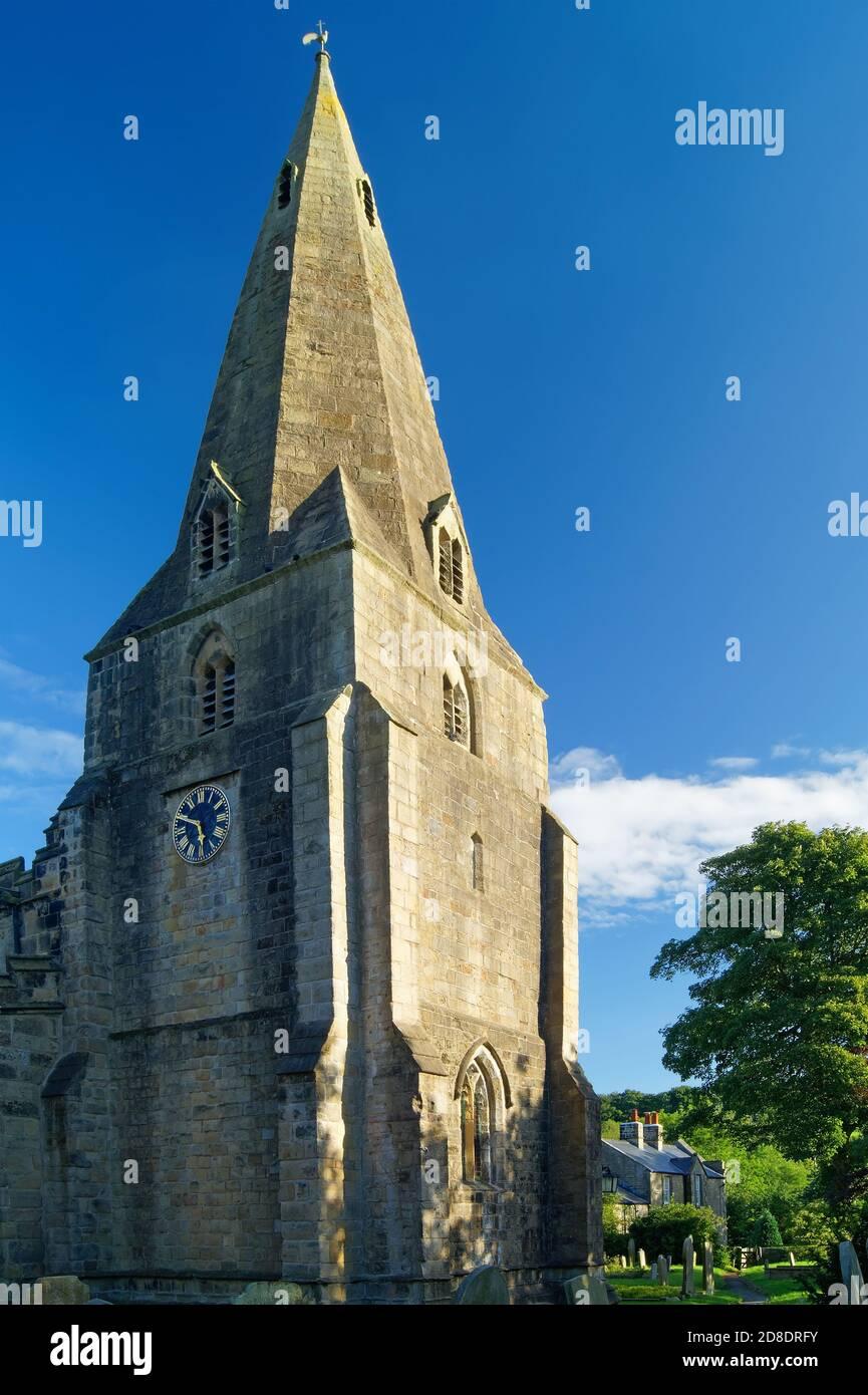 Royaume-Uni,Derbyshire,Peak District,Hope,St Peter's Church Banque D'Images