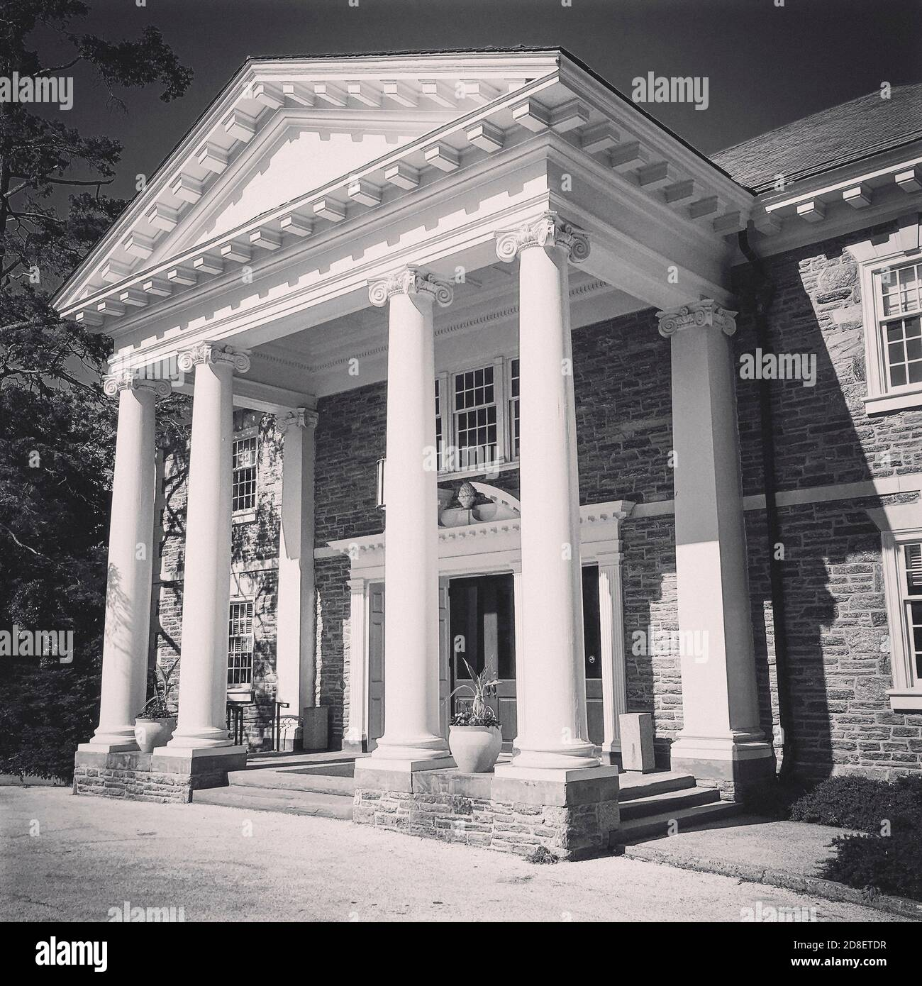 Roberts Hall, Haverford College, Haverford, Pennsylvanie, États-Unis Banque D'Images