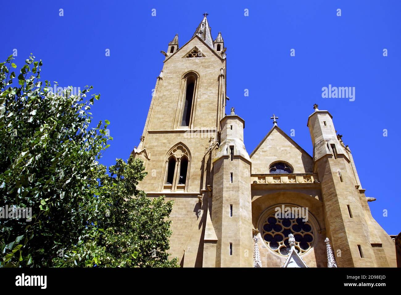 Église et paroisse de Saint-Jean de Malte à Aix-en-Provence, France Banque D'Images