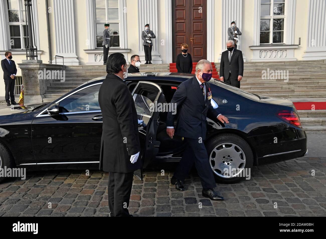 Berlin, Allemagne. 15 novembre 2020. Charles, Prince de Galles, à la réception du Président fédéral de l'Allemagne au Palais Bellevue le 15 novembre 2020 à Berlin, Allemagne crédit: Geisler-Fotopress GmbH/Alay Live News Banque D'Images