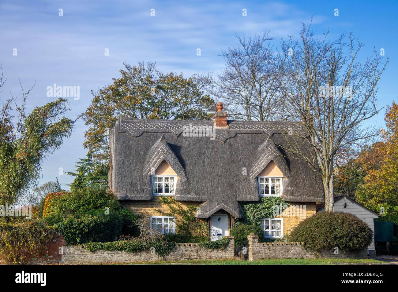 Forge Cottage Matching Green Essex Angleterre Banque D'Images