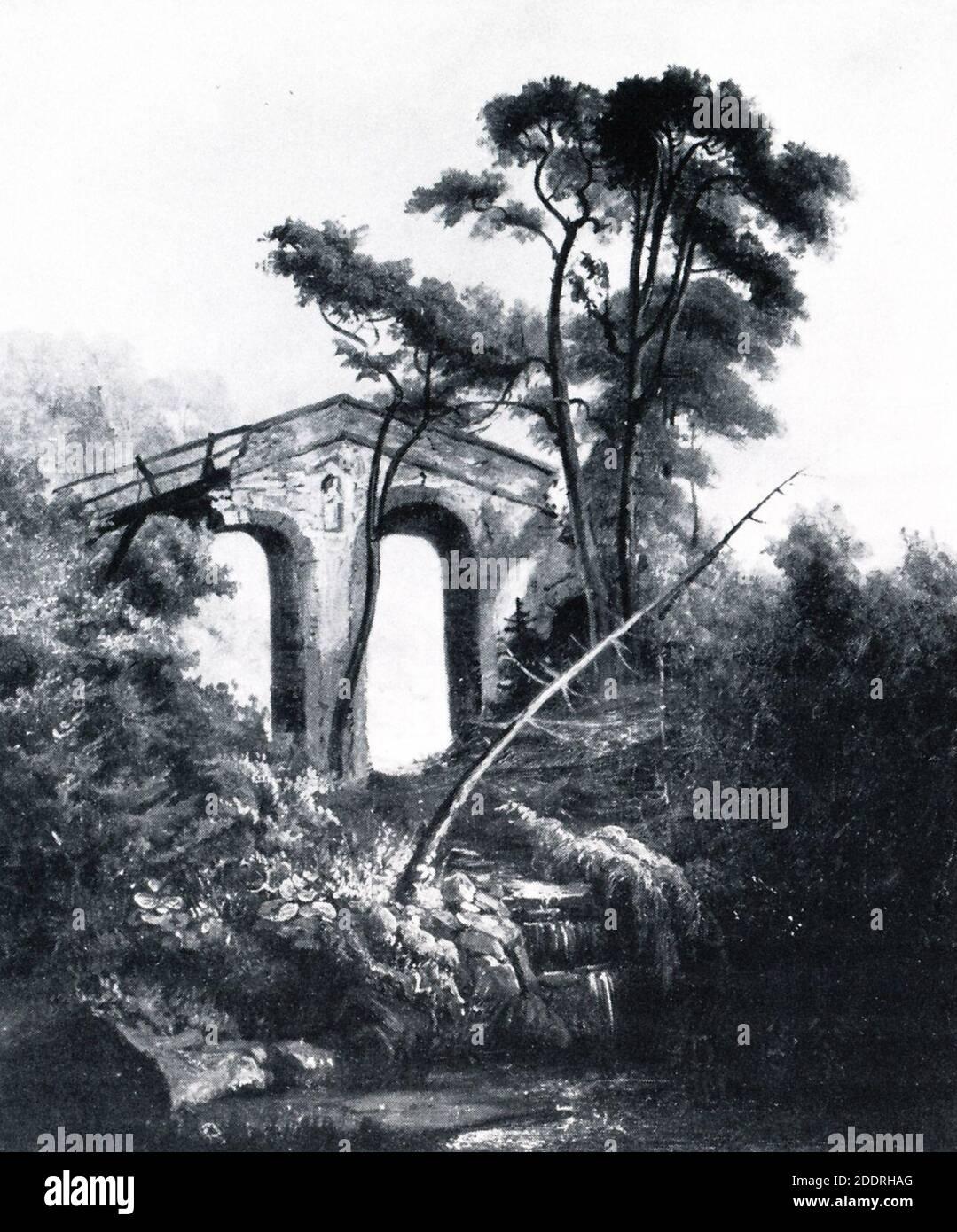 Glienicke Teufelsbrücke Lompeck. Banque D'Images