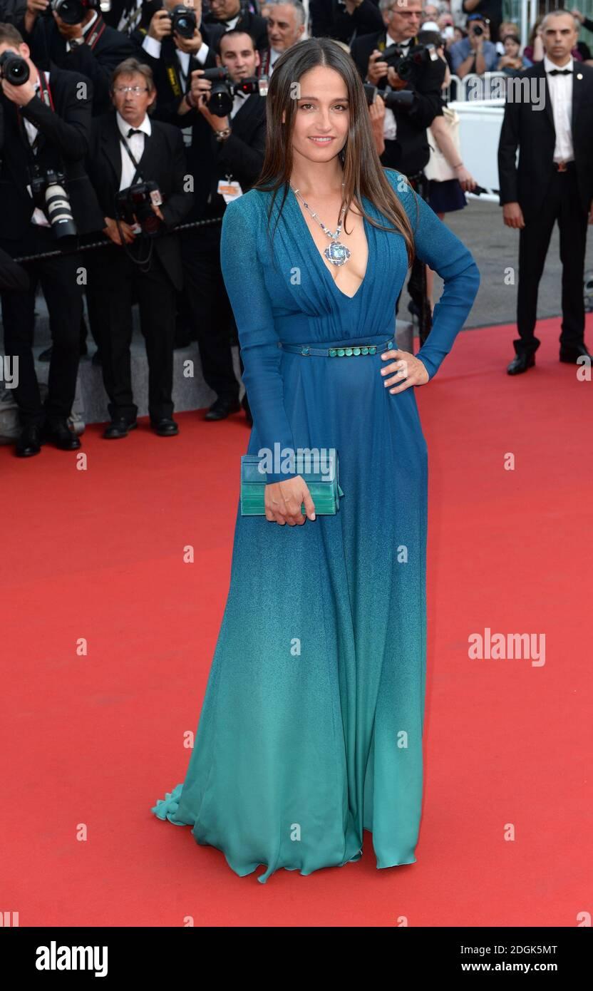 Marie Gillain participe à la première du film d'ouverture de la Tete haute qui a lieu lors du 68e Festival de Cannes, au Grand Théâtre lumière, Palais des Festivals, Cannes, France Banque D'Images