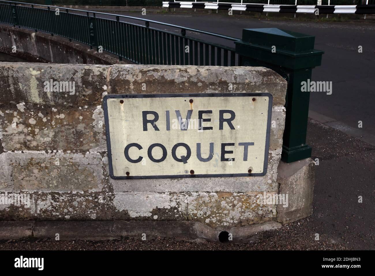 Le Coquet de la rivière à Felton.Samedi 3 octobre 2020. Banque D'Images