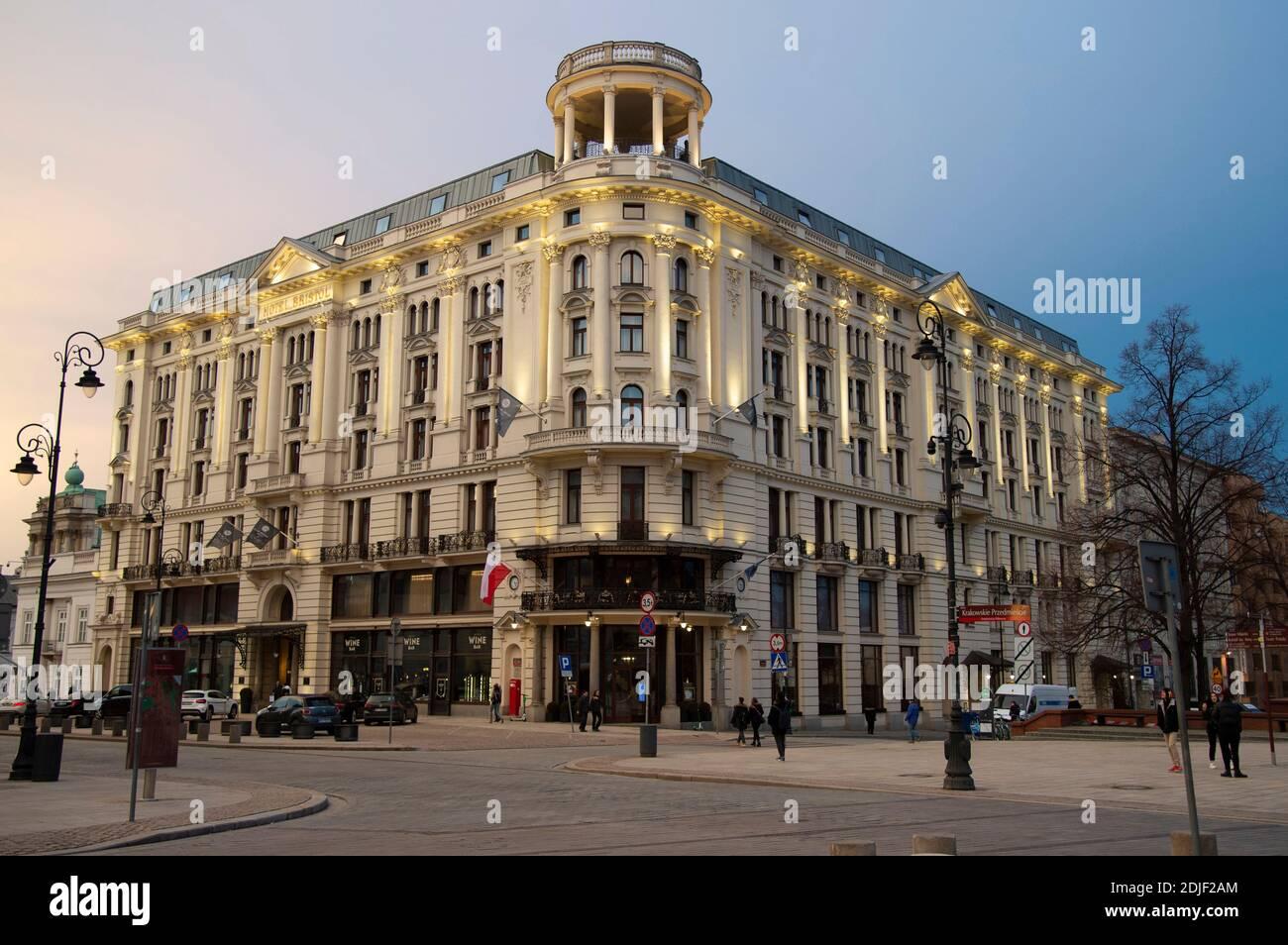 Hotel Bristol, hôtel 5 étoiles, Varsovie, Pologne, (photo de Casey B. Gibson) Banque D'Images