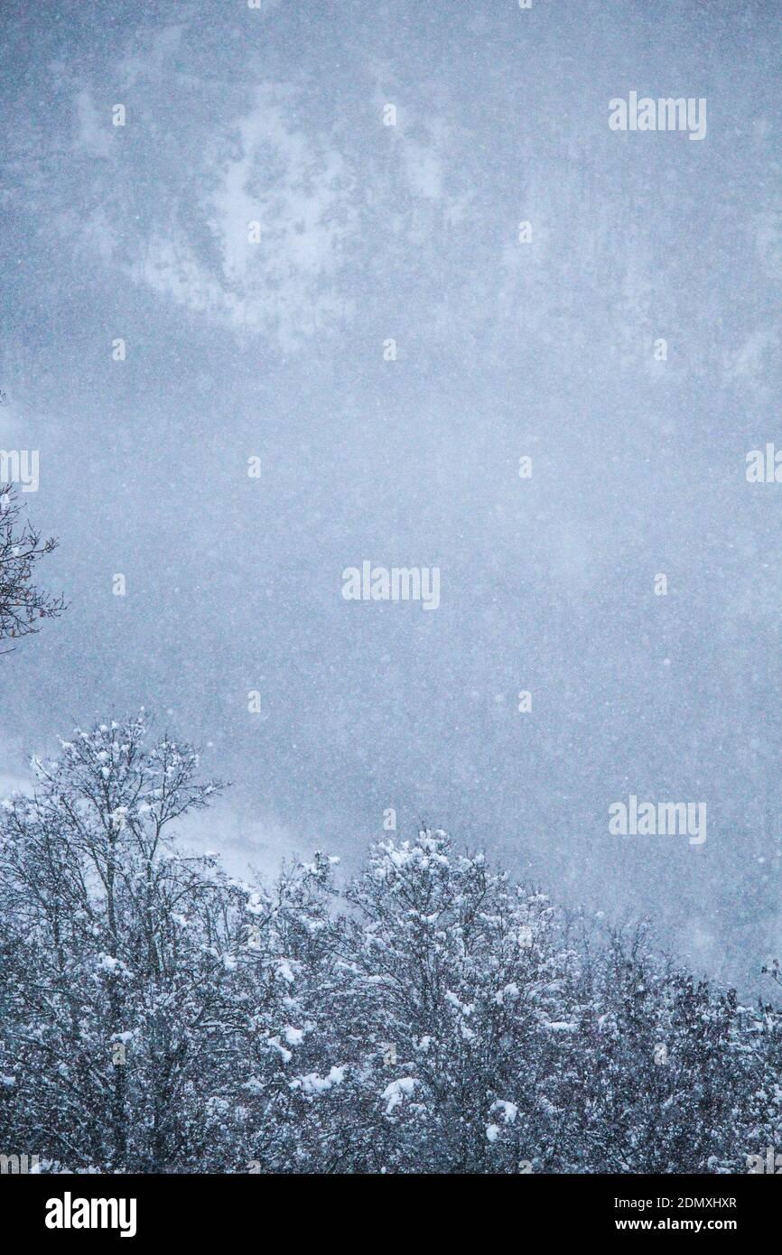 Jours de neige Banque D'Images