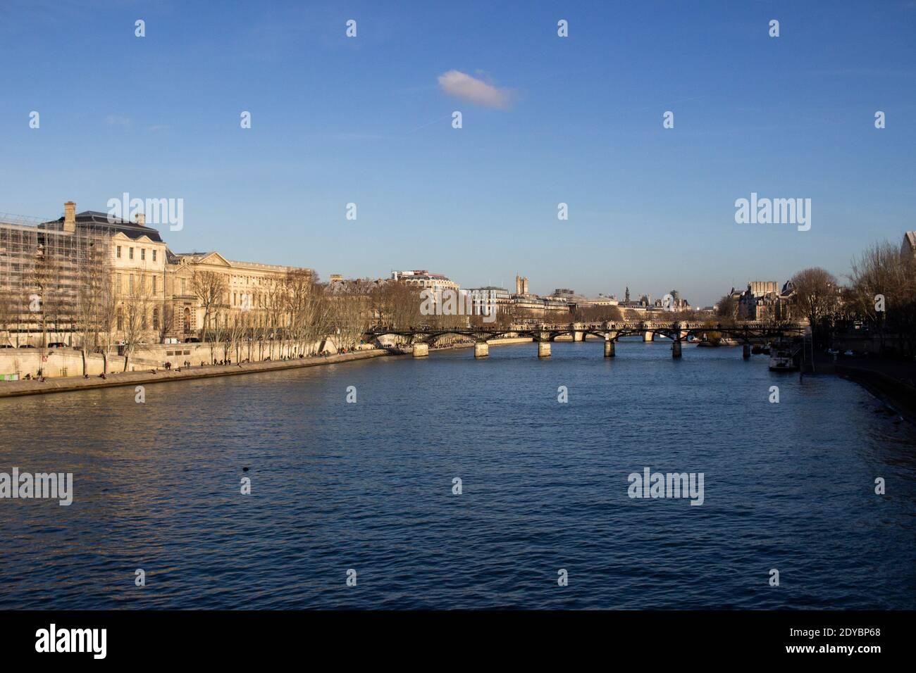 Lllustration de la vie quotidienne à Paris, France. Lllustration du quotidien à Paris en France. Banque D'Images