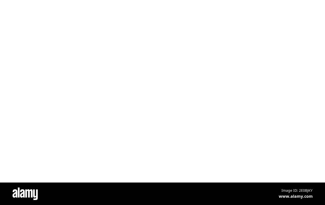 Arrière-plan de l'écran blanc. Fond d'écran blanc vide - Studio à écran blanc Uni. Banque D'Images