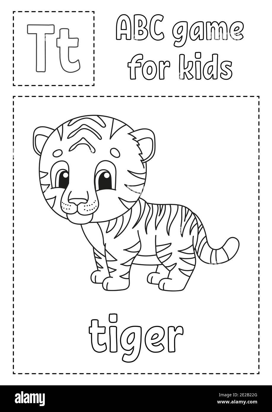 Tiger Picture Banque d'images vectorielles   Alamy