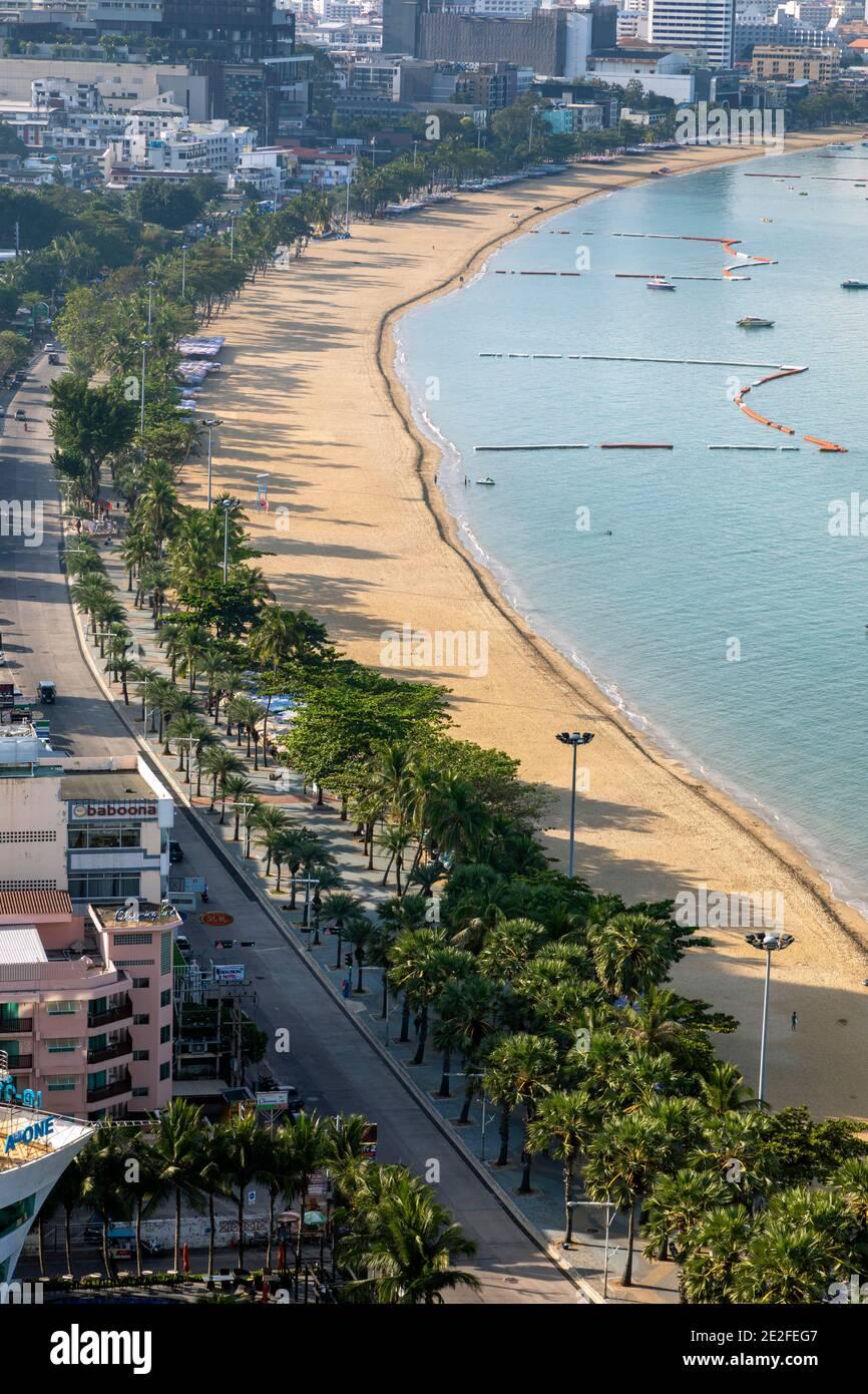 Pattaya, Chon Buri, Thaïlande Banque D'Images
