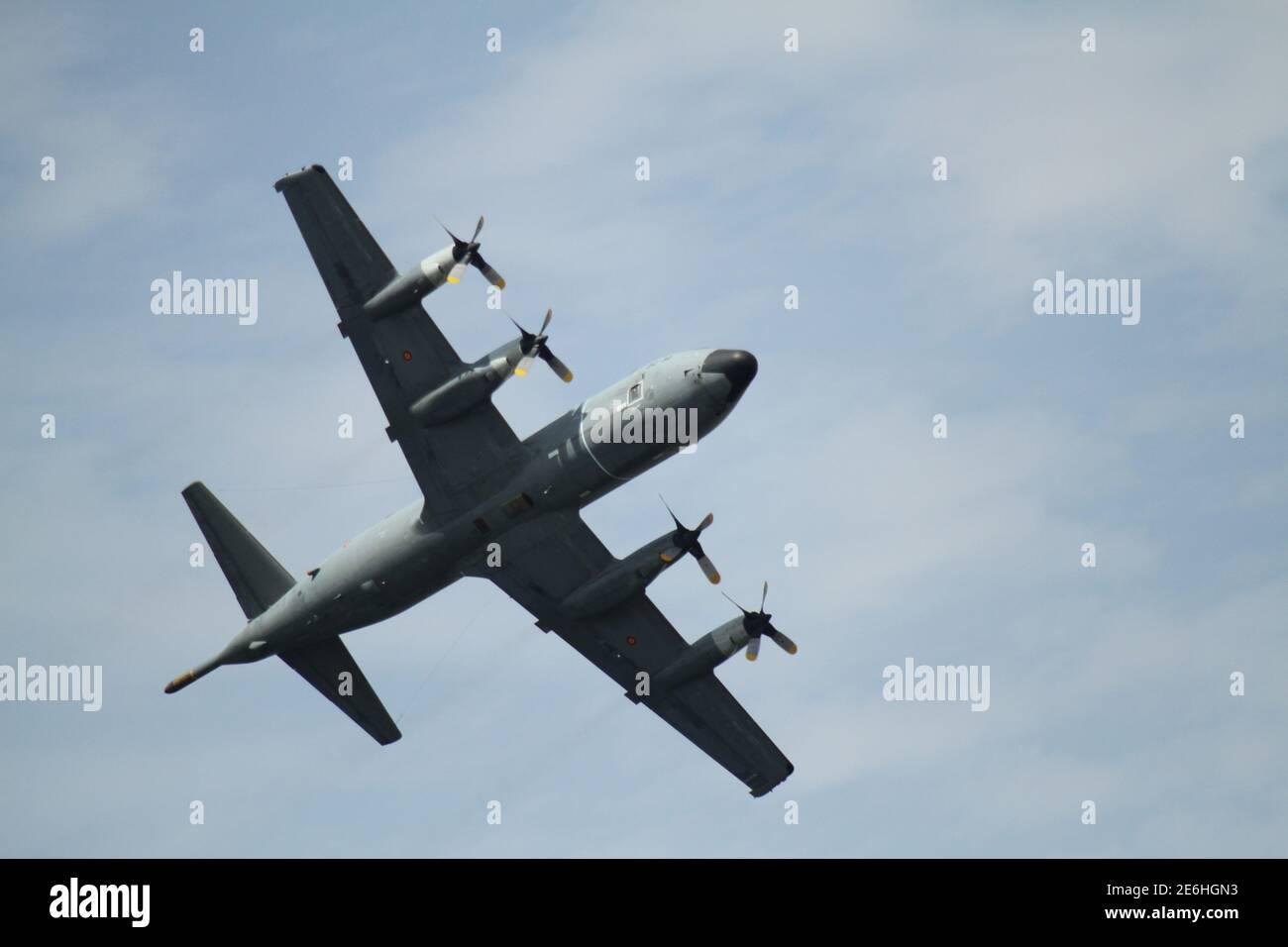 B52 vol en espagnol Airshow Banque D'Images