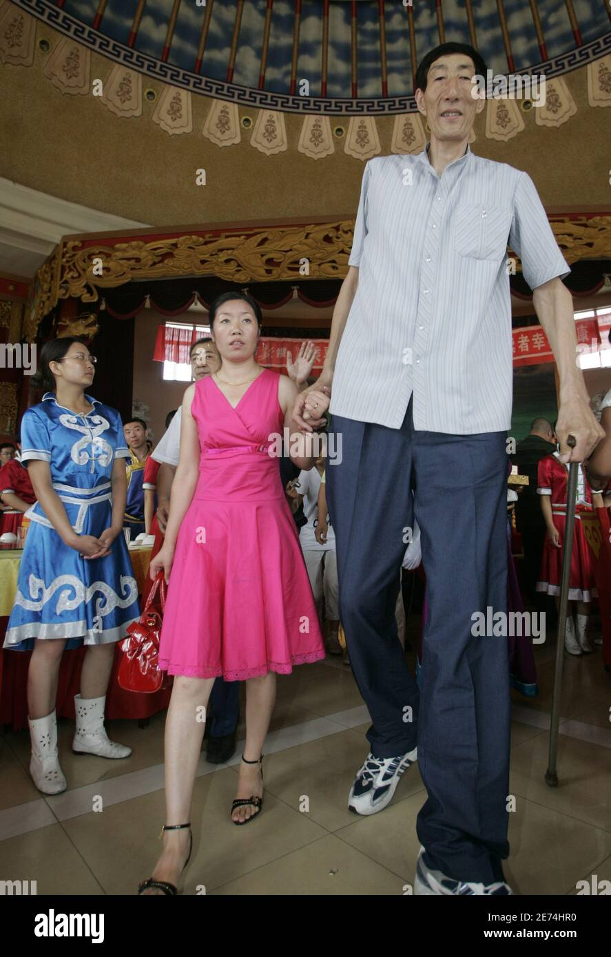 Tall chinese woman