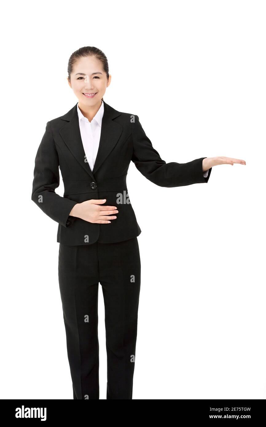 Femme orientale en entreprise photo de haute qualité Banque D'Images