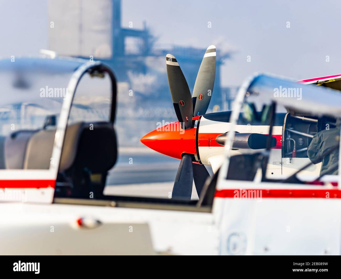 Croate Pilatus PC-9 de Krila oluje Wings de la voltige de tempête groupe Banque D'Images