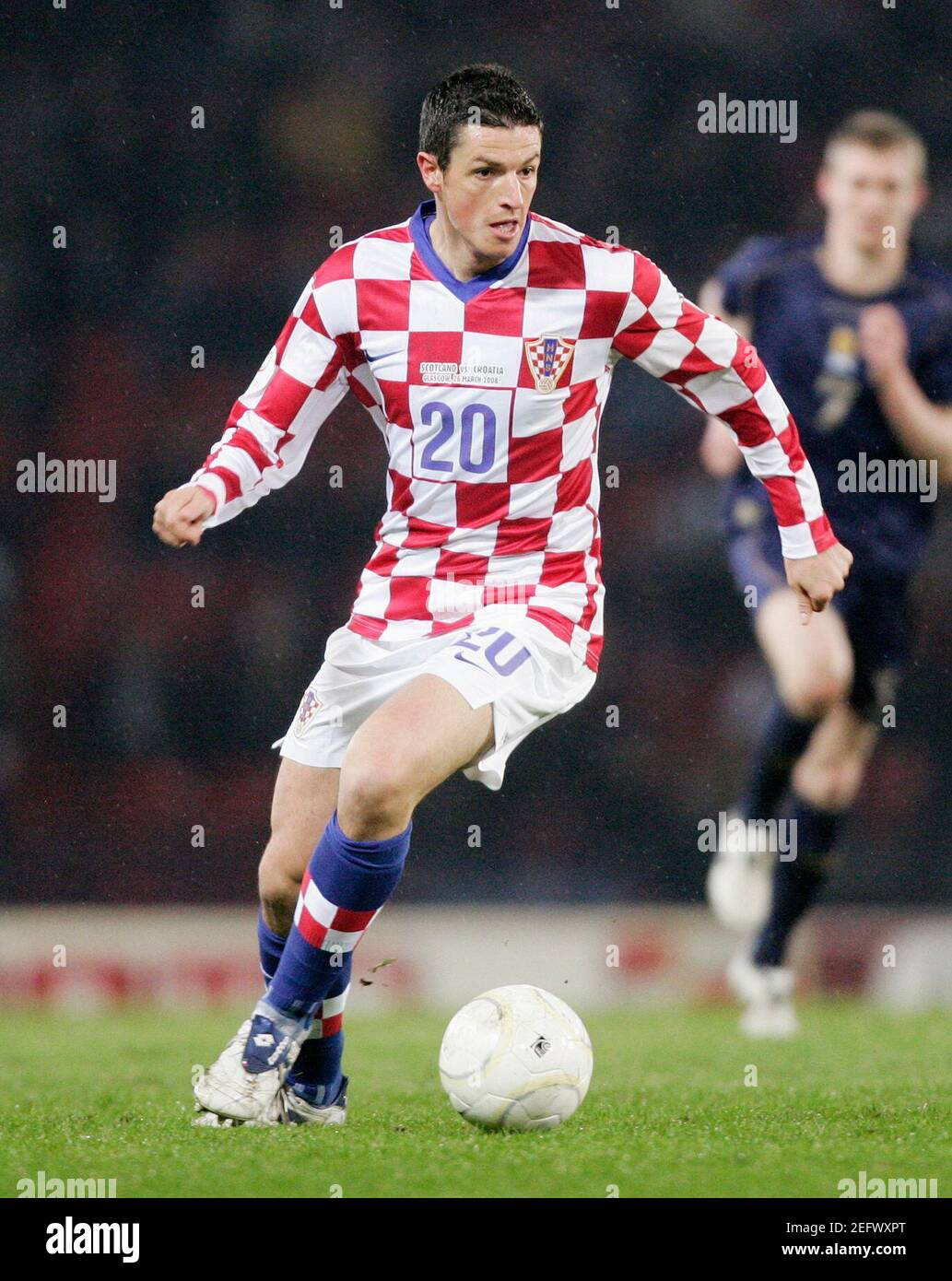 Football - stock , 26/3/08 Igor Budans - Croatie crédit obligatoire: Images action / Lee Smith Banque D'Images