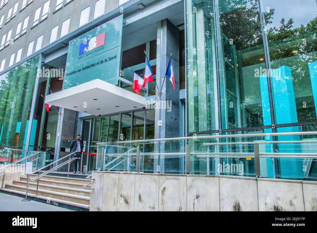 Solidarité santé Banque D'Images