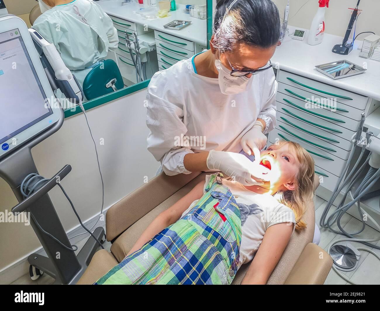 Thérapie physique médecine alternative Banque D'Images
