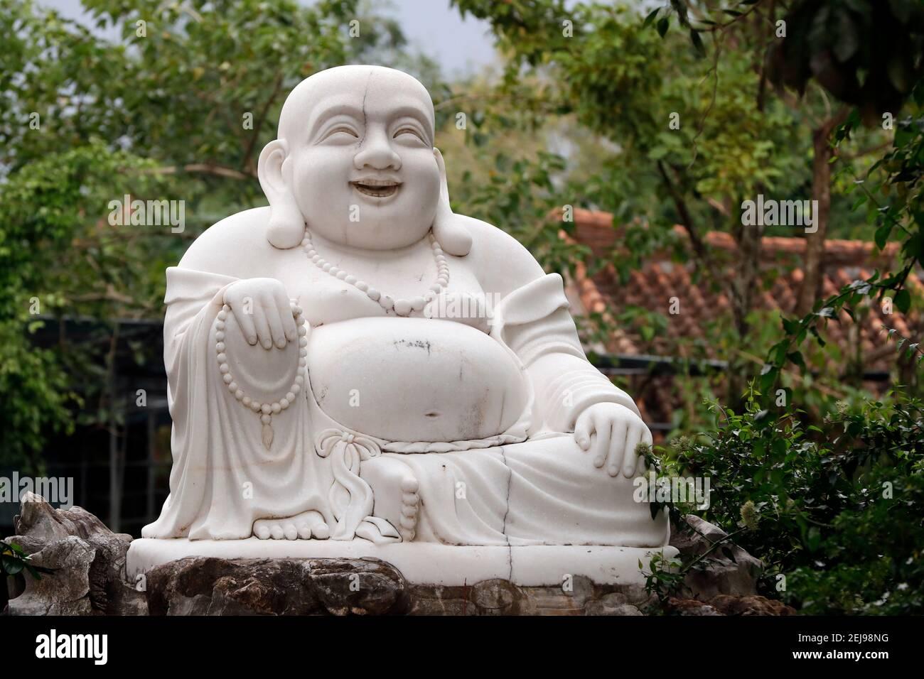 Thien ung temple bouddhiste Banque D'Images