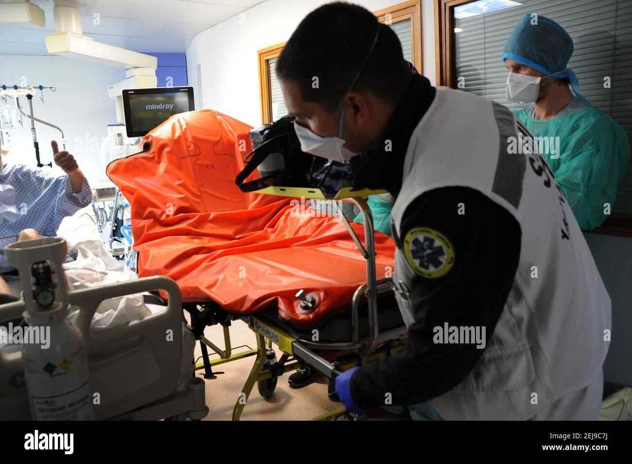 Urgences Covid-19 Banque D'Images