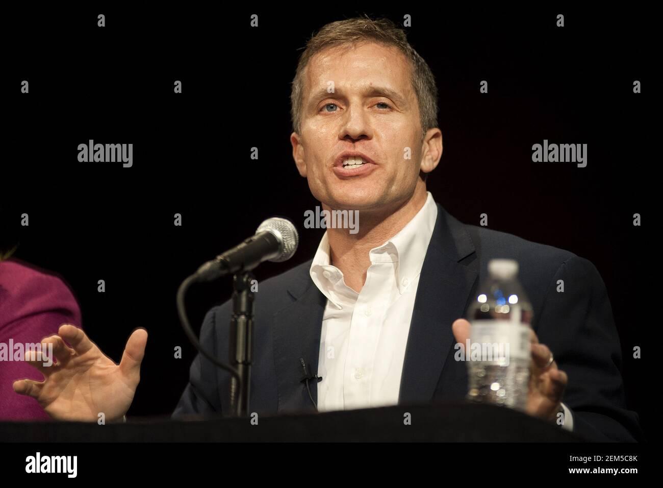 Missouri GOP Forum des candidats au poste de gouverneur 2016 Banque D'Images
