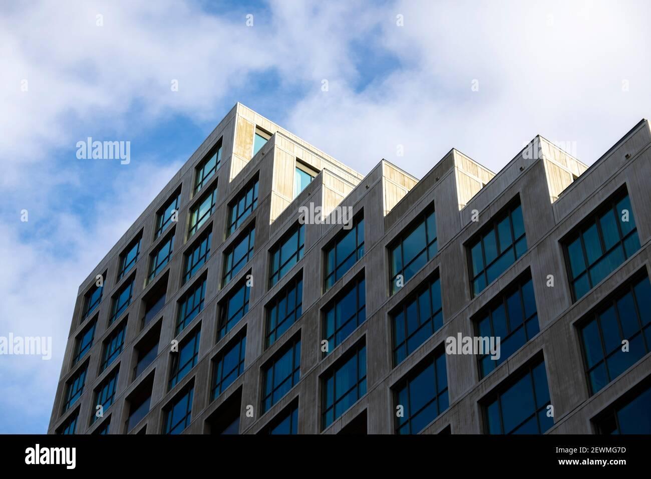 Architecture moderne à Strijp-S, Eindhoven, Pays-Bas, Europe. Banque D'Images