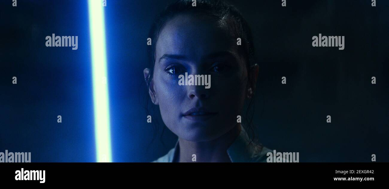 DAISY RIDLEY, STAR WARS: THE RISE OF SKYWALKER, 2019 Banque D'Images