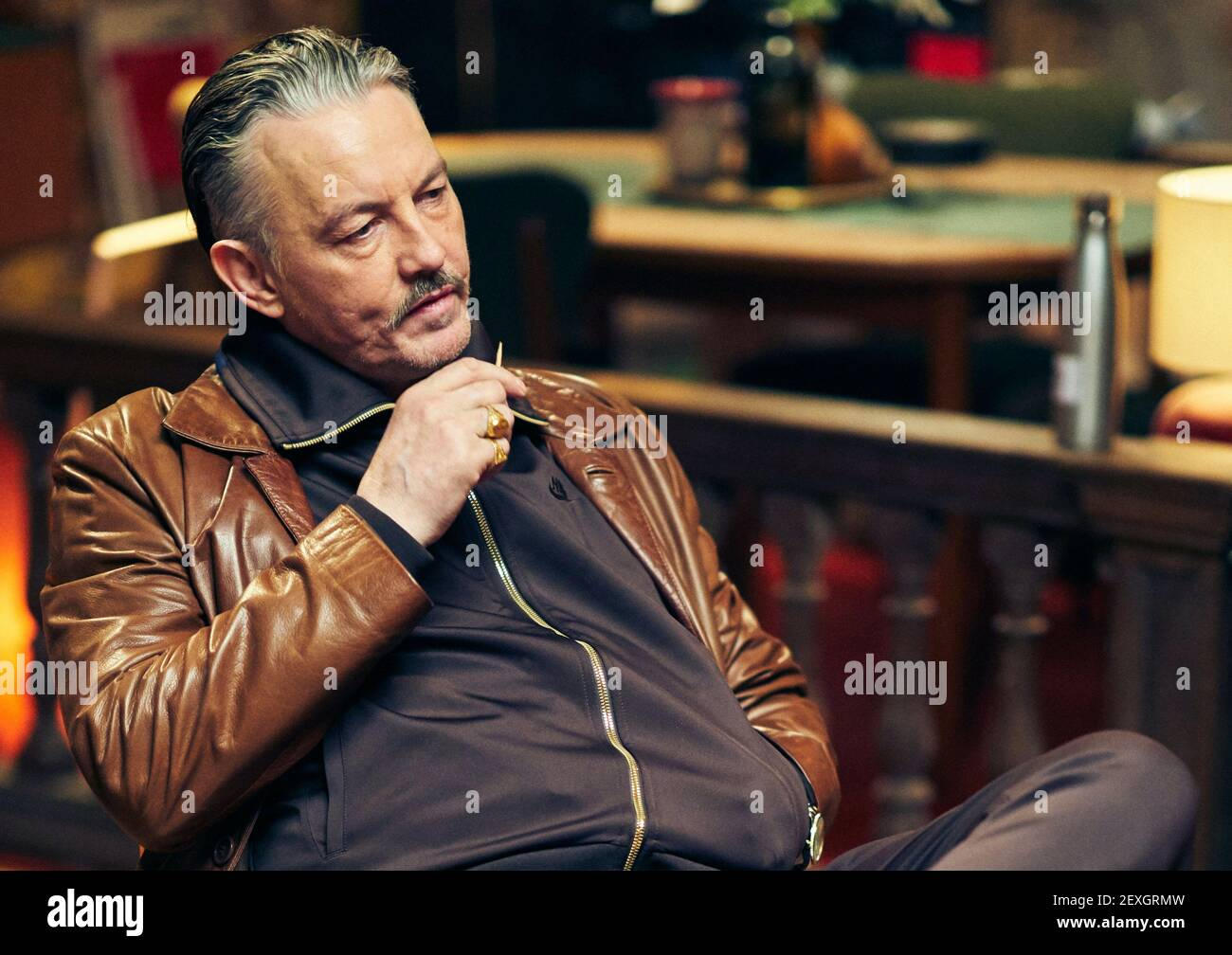 TOMMY FLANAGAN, ASSASSINS ANONYMES, 2019 Banque D'Images