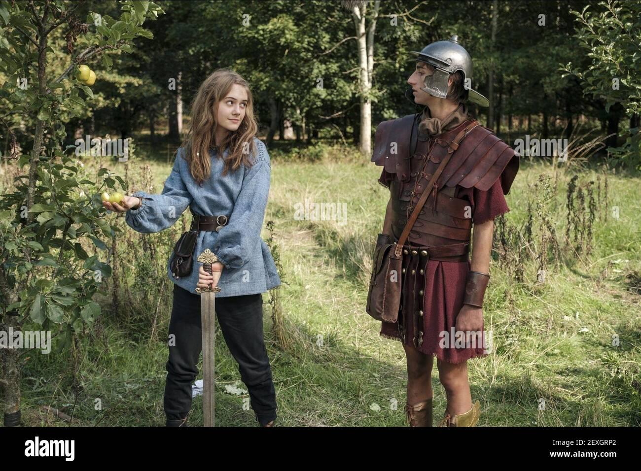EMILIA JONES, SEBASTIAN CROFT, HISTOIRES HORRIBLES: LE FILM - LES ROMAINS POURRIS, 2019 Banque D'Images