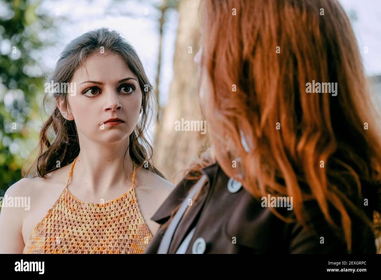 JESSICA CLEMENT, DARK ANGEL, 2019 Banque D'Images