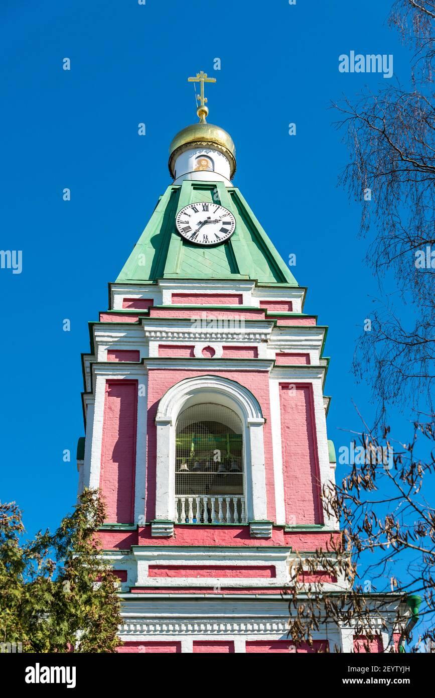 Église de la Nativité de la Bienheureuse Vierge Marie à Balashikha, Russie Banque D'Images