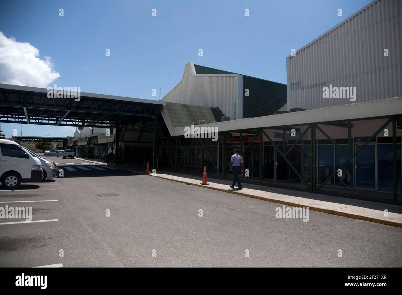 maurice bishop international aéroport st george grenade vents îles à l'ouest indies Banque D'Images