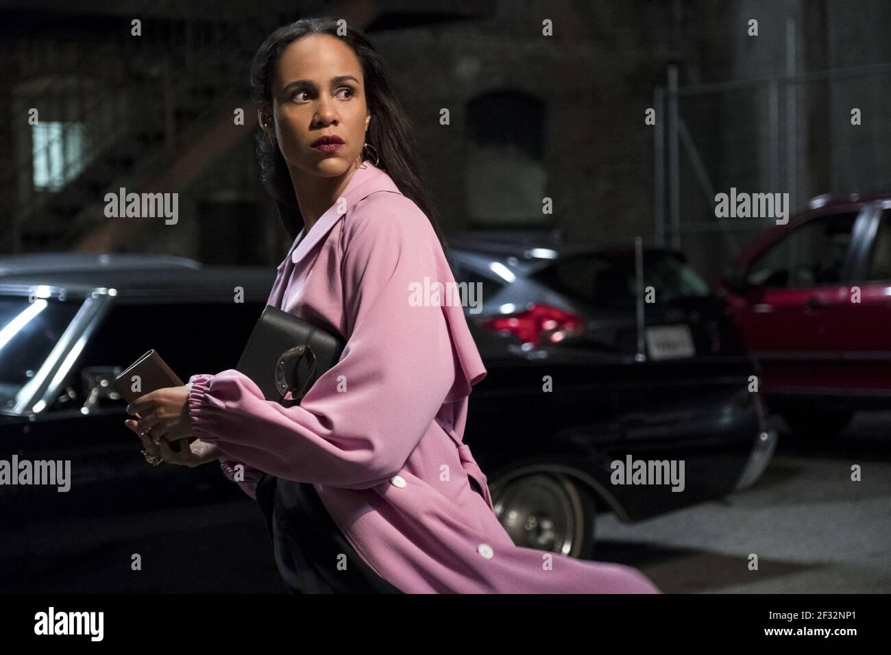 ZAWE ASHTON, VELVET BUZZSAW, 2019, ©CLAUDETTE BARIUS/NETFLIX Banque D'Images