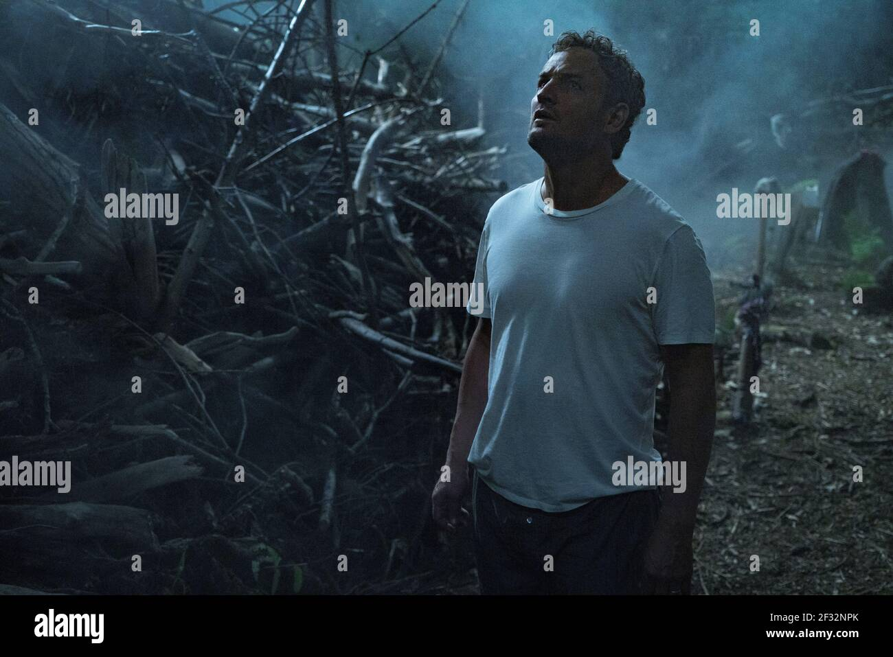 JASON CLARKE, PET SEMATARY, 2019, ©KERRY HAYES/PARAMOUNT Banque D'Images