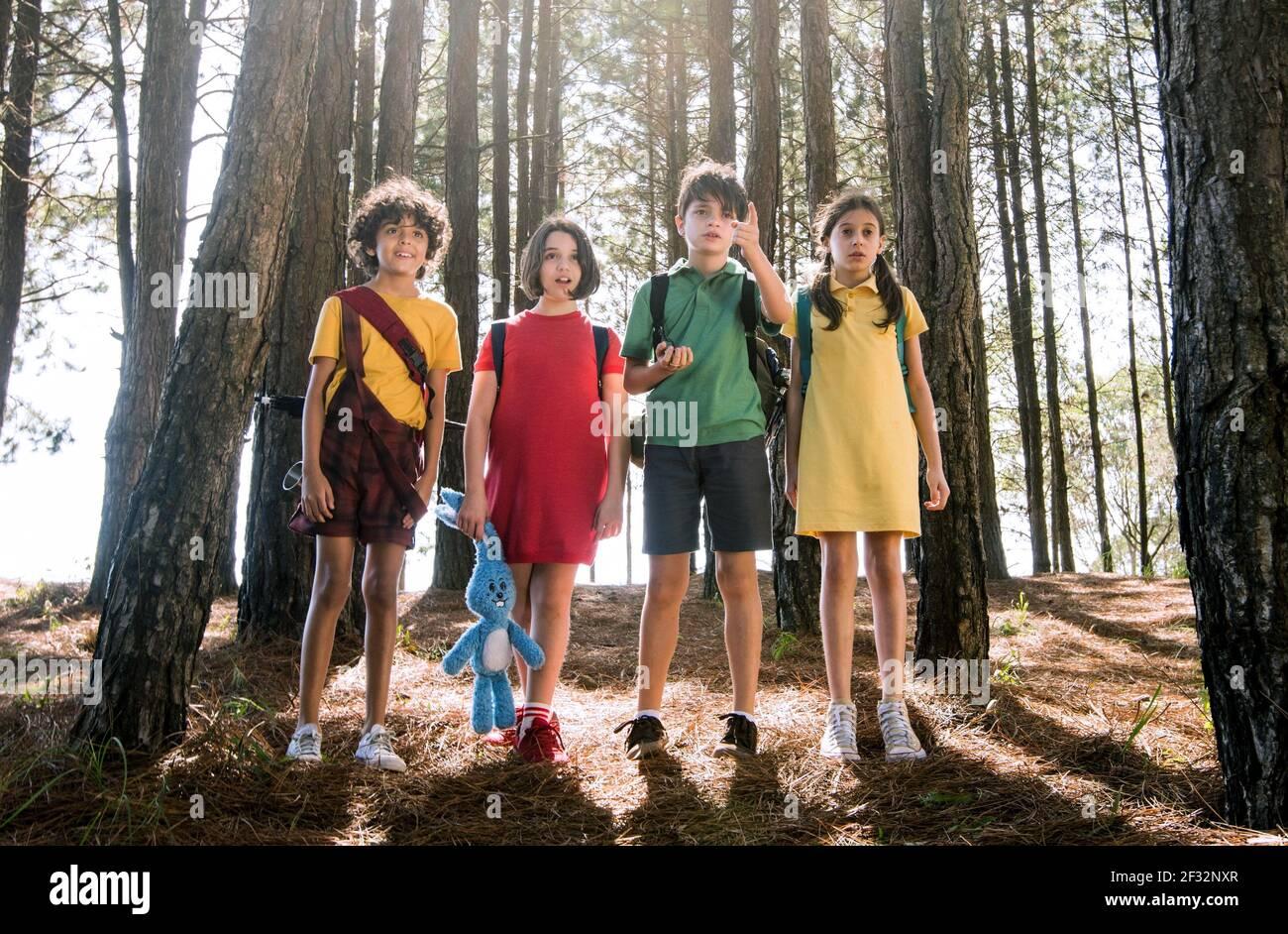MOREIRA,BENITTE,VECHIATTO,RAUSEO, MONICA ET SES AMIS: BONDS, 2019, ©PARAMOUNT PICTURES Banque D'Images