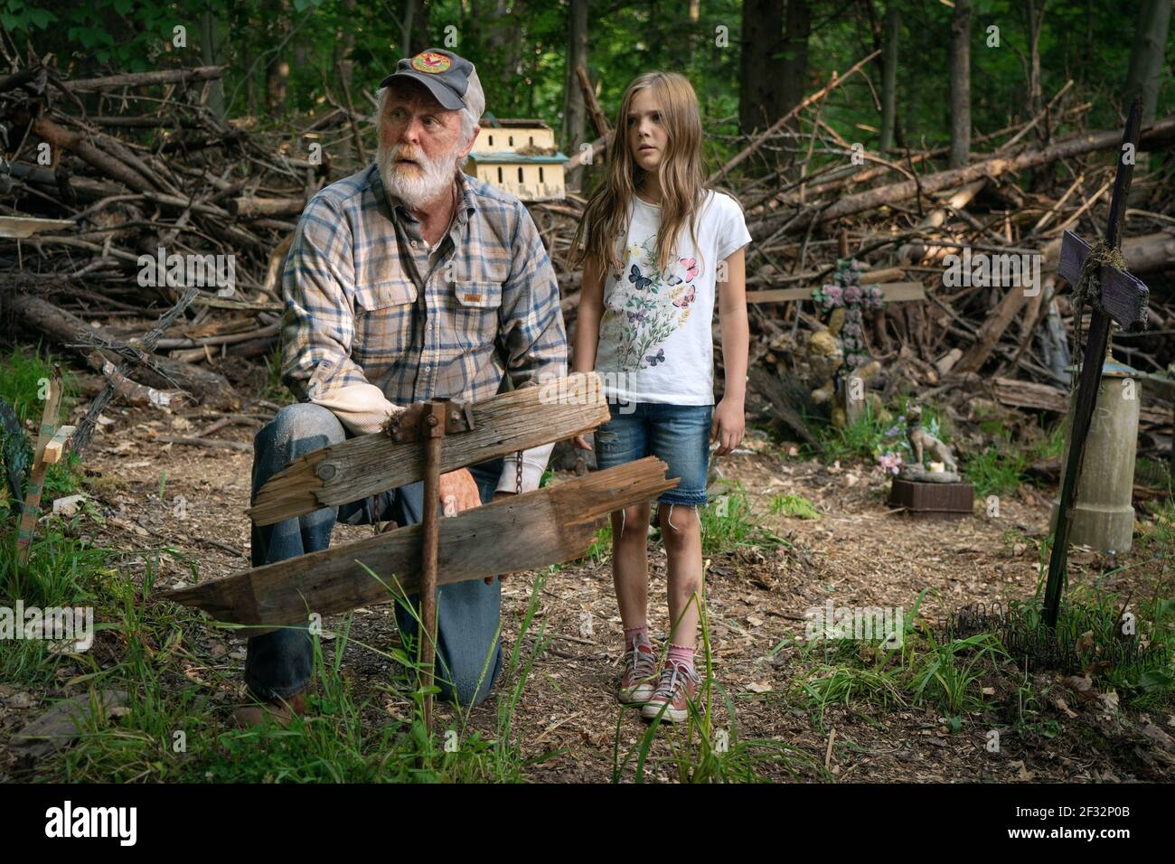 LITHGOW, LAURENCE, PET SEMATARY, 2019, ©KERRY HAYES/PARAMOUNT Banque D'Images