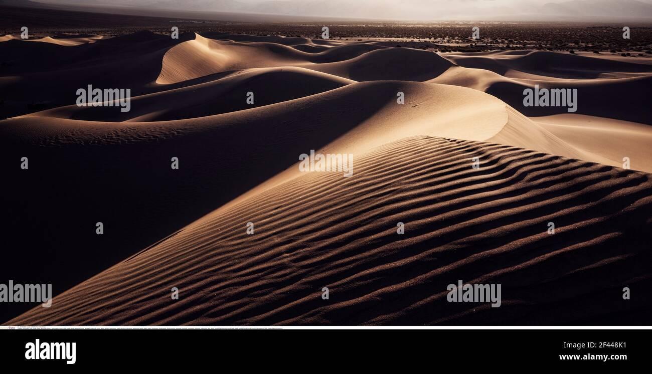 Géographie / Voyage, Etats-Unis, Vallée de la mort, Mesquite Dunes, droits-supplémentaires-déstockage-Info-non-disponible Banque D'Images
