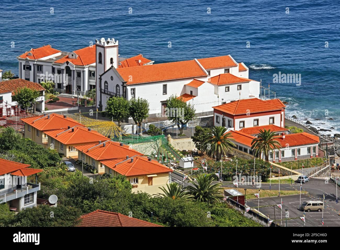Géographie / voyage, Portugal, Ile de Madère, lieu de pèlerinage Ponta Delgada, église de pèlerinage, droits-supplémentaires-déstockage-Info-non-disponible Banque D'Images