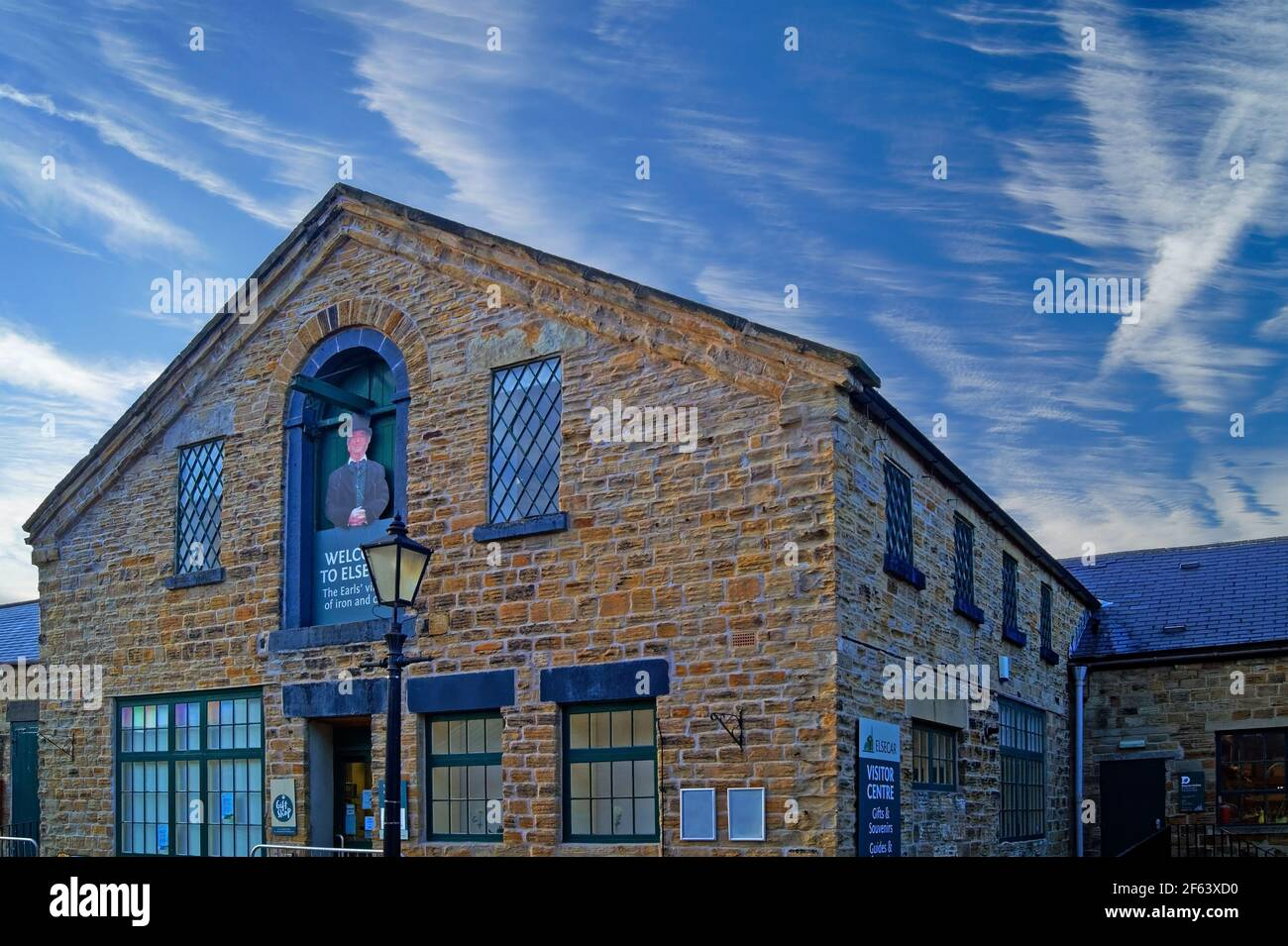 Royaume-Uni, Yorkshire du Sud, boutique de cadeaux Elsecar Heritage Centre Banque D'Images