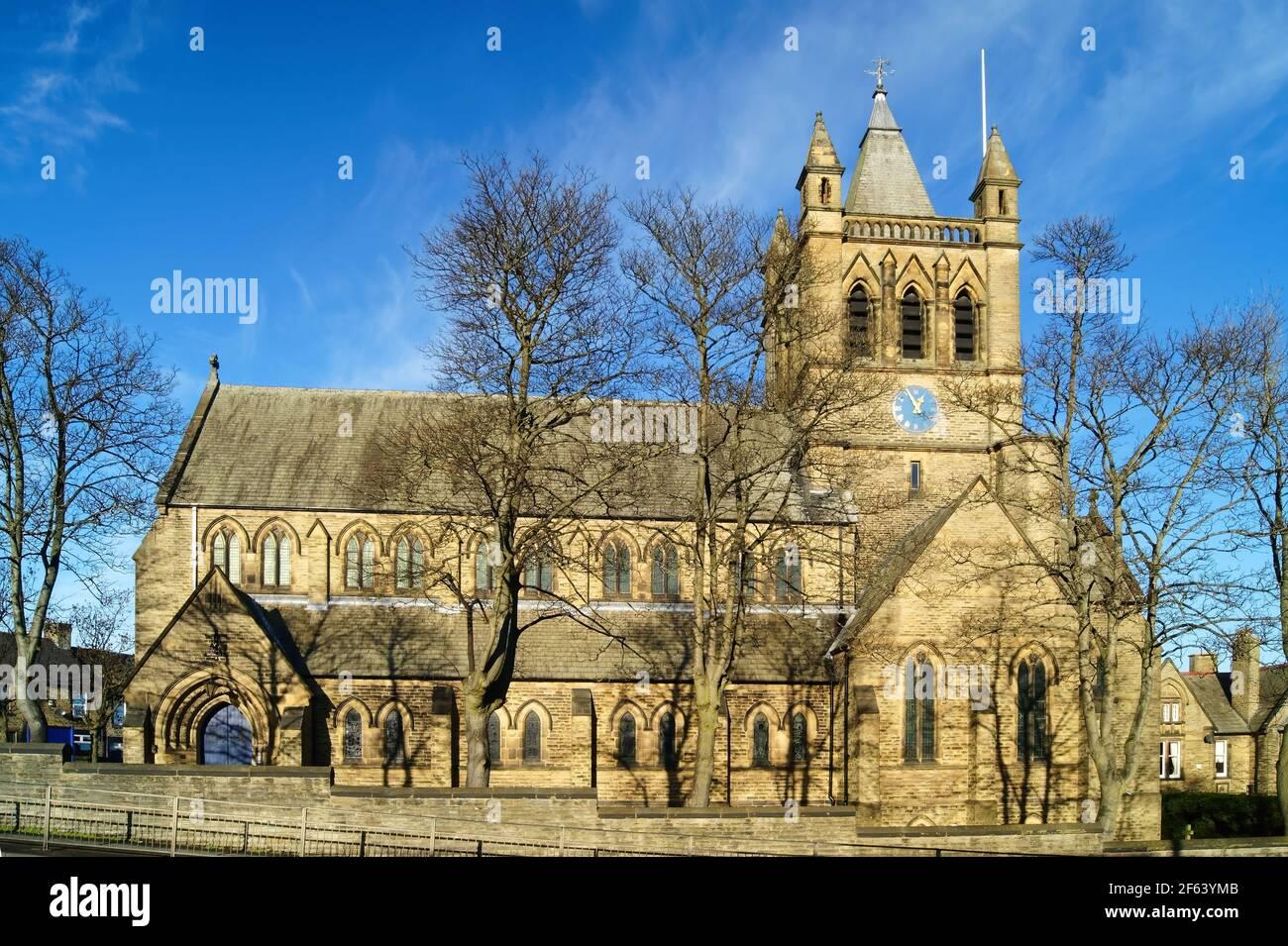 Royaume-Uni, Yorkshire du Sud, Barnsley, St Edward l'église du confesseur Banque D'Images